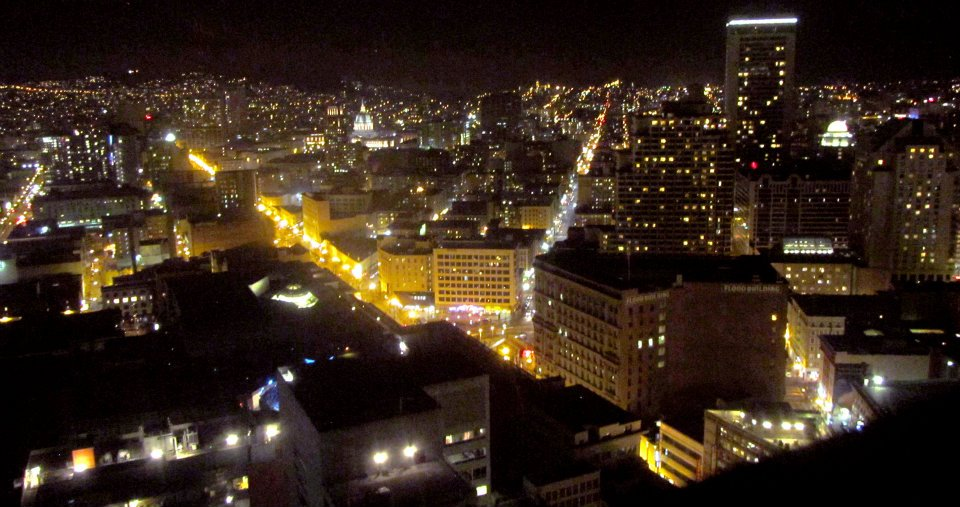 View from The View Lounge, San Francisco