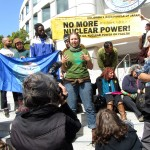 No More Nuclear Power on Fault Lines: Protest at SF City Hall